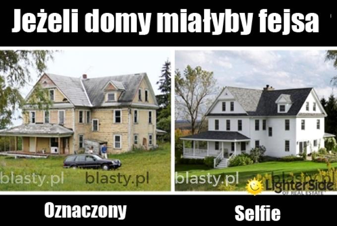 A gdyby tak domy miały fejsa