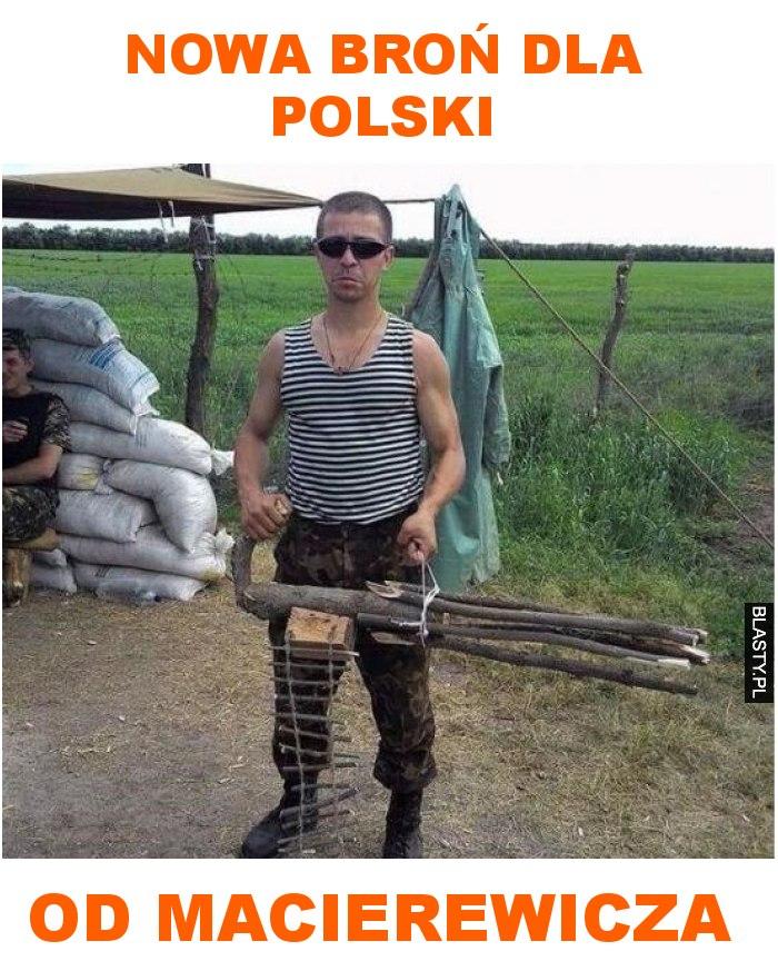 nowa broń dla Polski od Macierewicza
