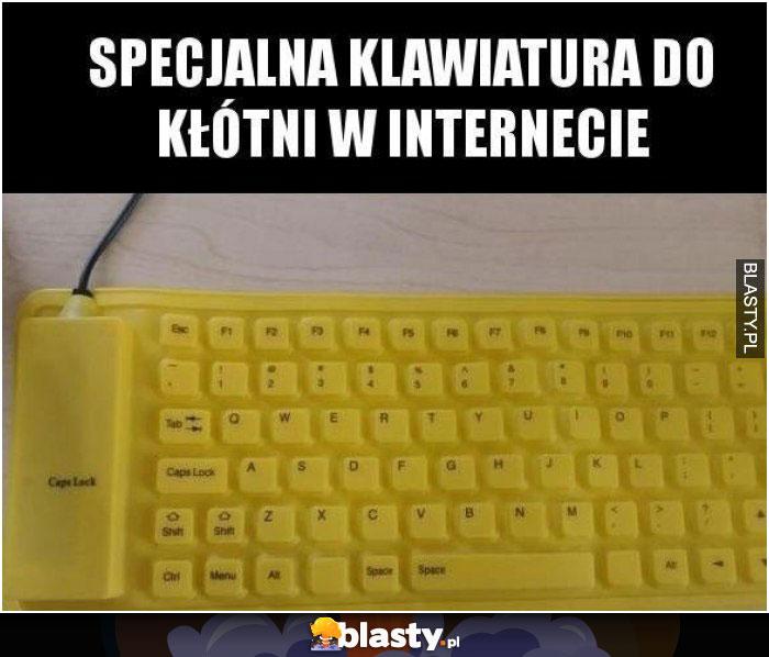 Specjalna klawiatura