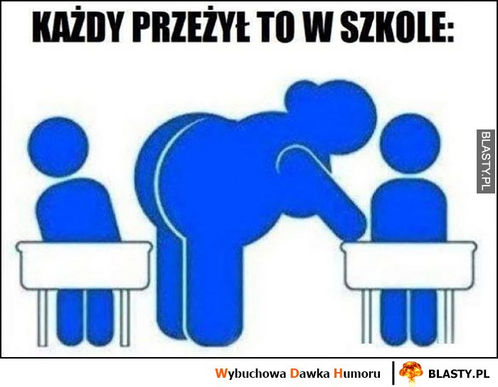 Każdy przeżył to w szkole wielki tyłek nauczyciela kiedy komuś tłumaczy