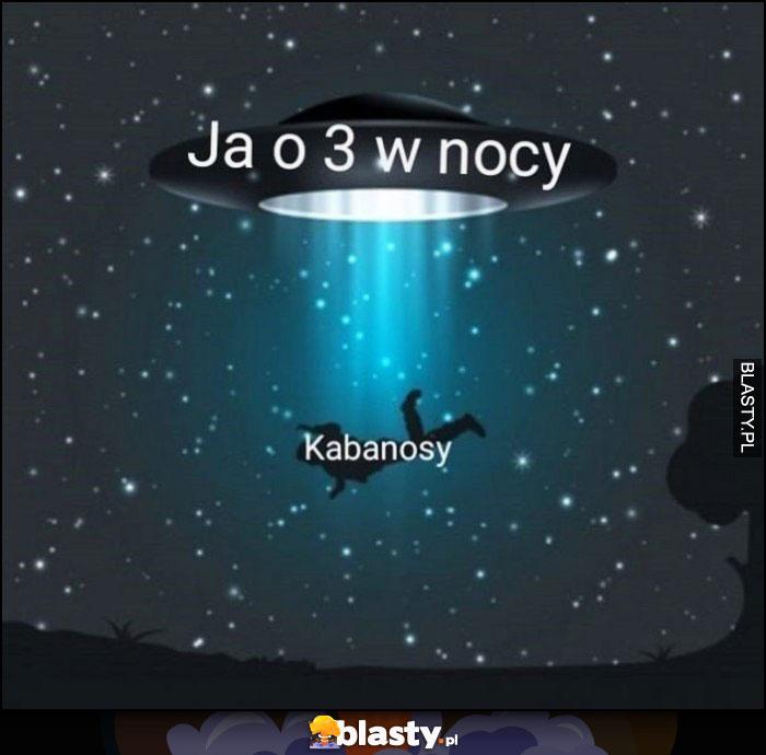Ja o 3 w nocy ufo porywa kabanosy