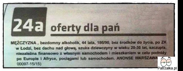 gazeta matrymonialna Płock