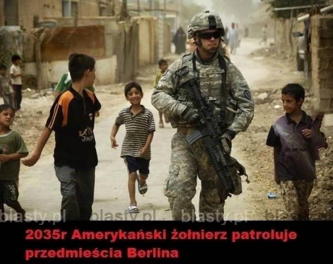 2035 amerykański żołnierz