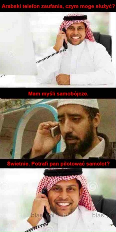 Arabski telefon zaufania