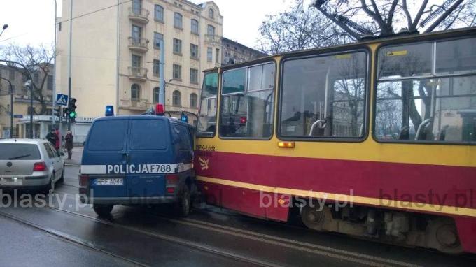 Brawurowy pościg na ulicach Łodzi
