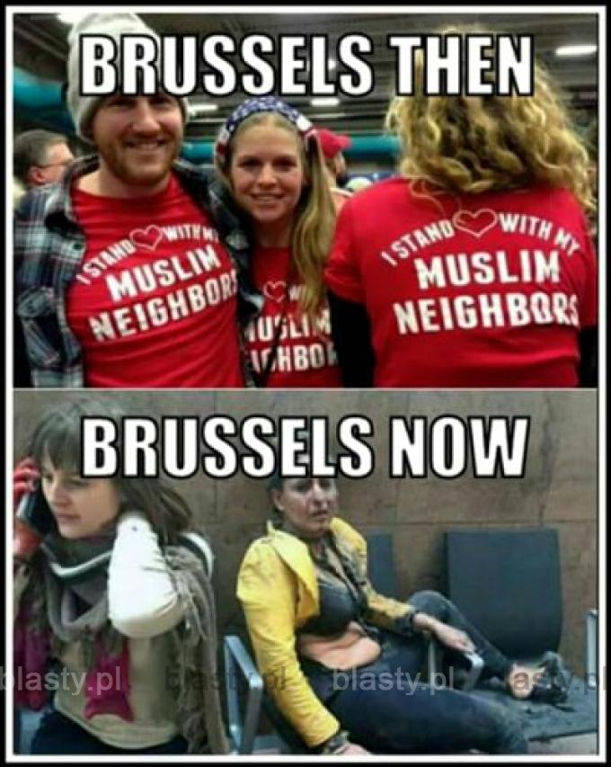 Brukesla kiedyś vs bruksela obecnie