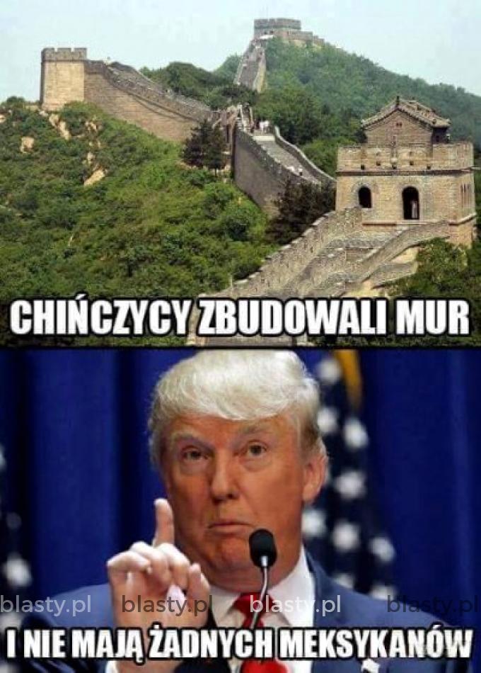 Chińczycy zbudowali mur