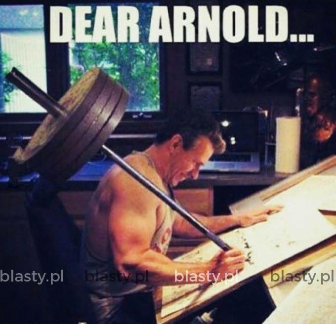 Dear Arnold