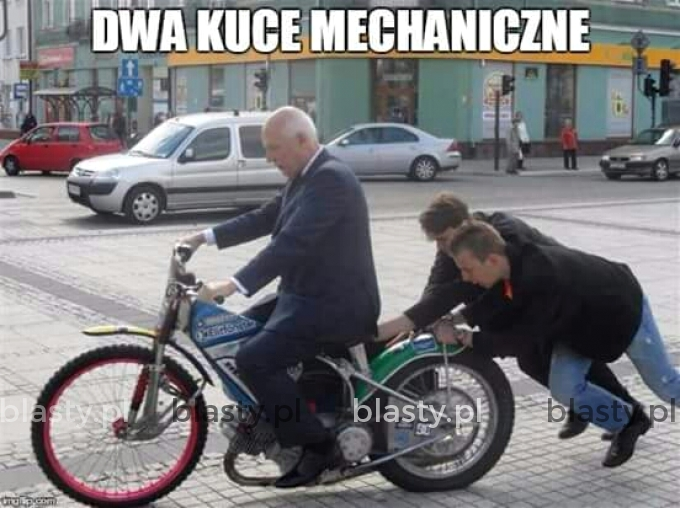 Dwa kuce mechaniczne