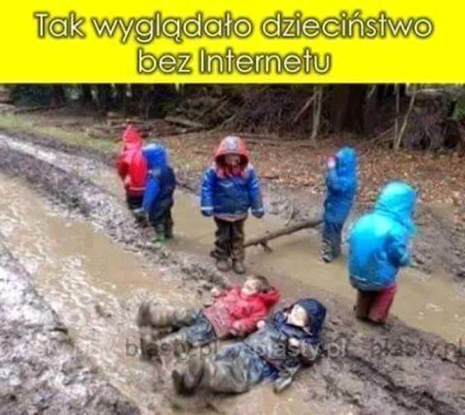 Dzieciństwo bez internetu