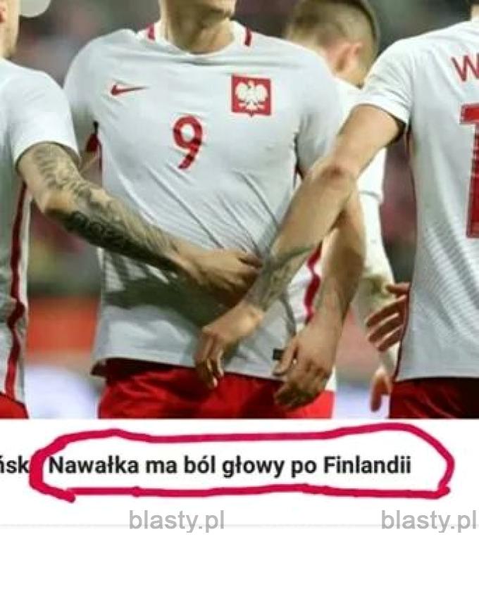 Finlandia po niej boli głowa