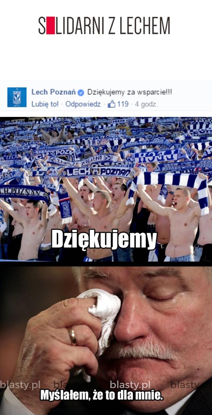 Gazeta Wyborcza i jej solidarność z Lechem