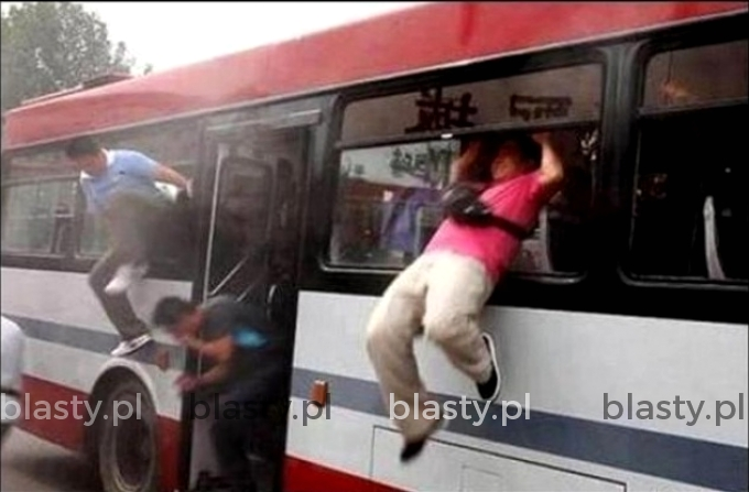 Gdy nie masz biletu, a włazi kanar do autobusu
