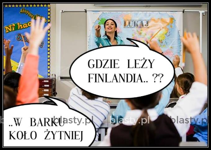 Gdzie leży finlandia