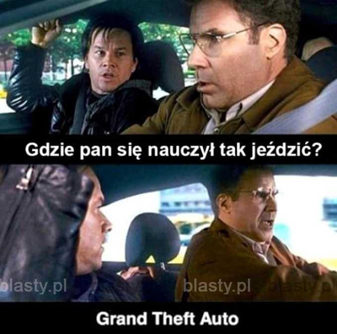 GTA - najlepszy szkoła jazdy.