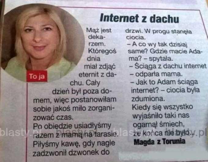 Internet z dachu