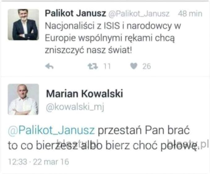 Janusz pozostanie Januszem
