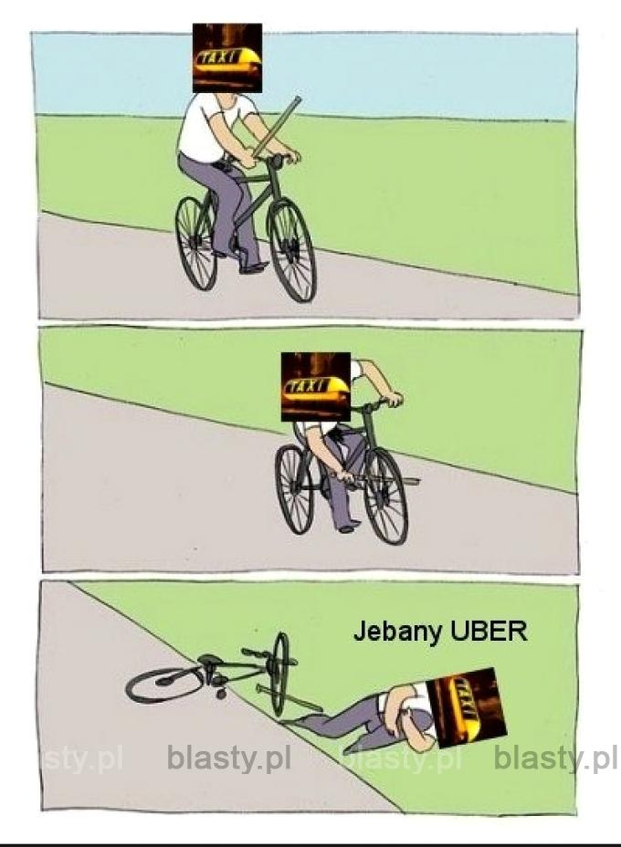 Jebany uber taxi