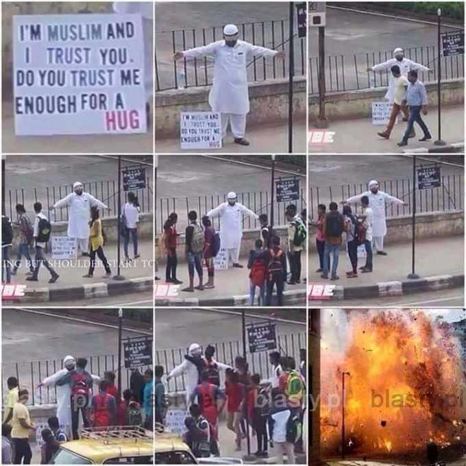 Jestem muzułmanem i ufam Ci
