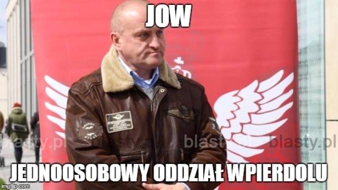 JOW - Jednoosobowy oddział wpie..lu