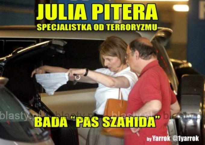 Julia pitera specjalistka od terroryzmu