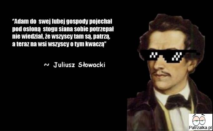 Juliusz i jego srogi wieszcz