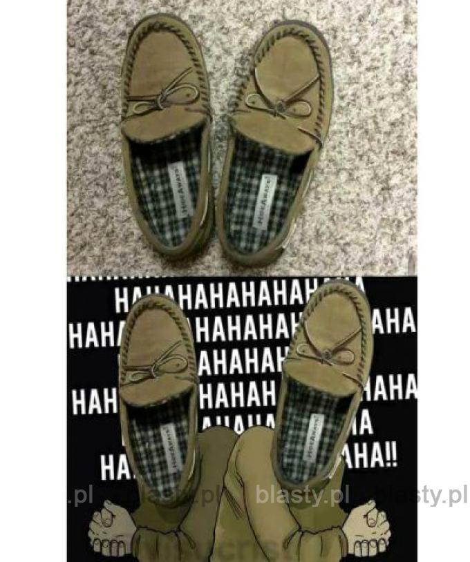 Kiedy buty z Ciebie drwią
