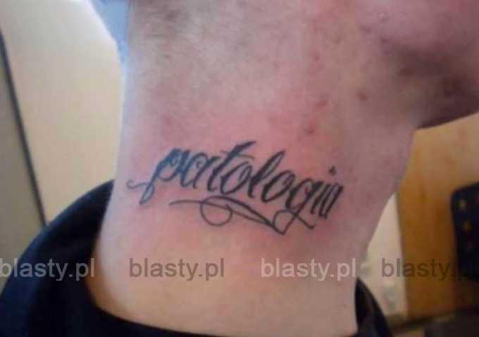 Kiedy jestes najebany w trzy dupy i koledzy robią Ci mały tatuaż
