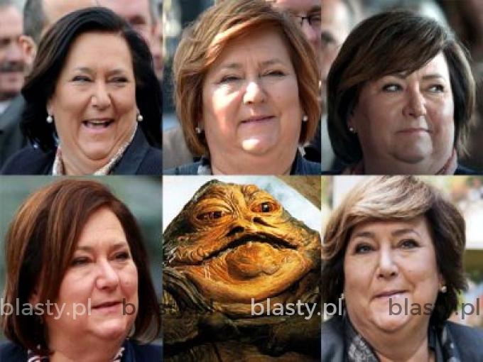 Kiedy jesteś podobna do Jabba