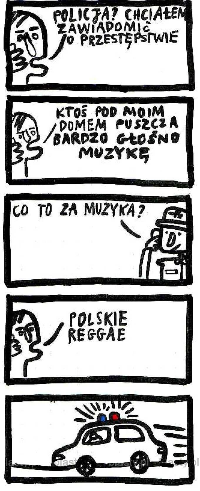Kiedy ktoś słucha polskiego reggae
