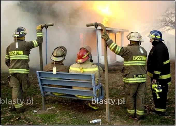 Kiedy pali się budynek urzędu skarbowego