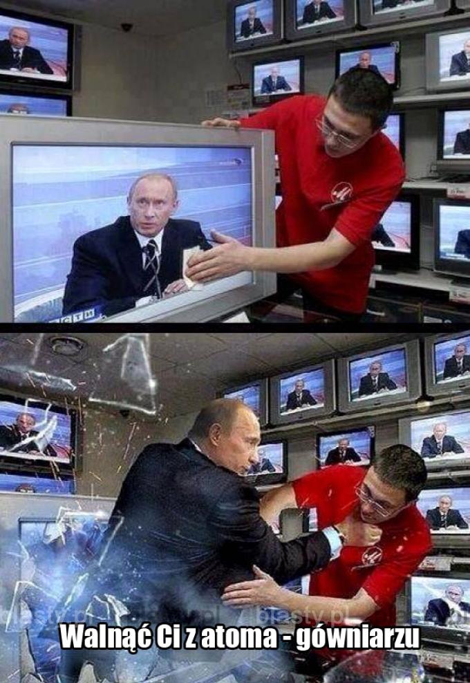 Kiedy Putin jest zły