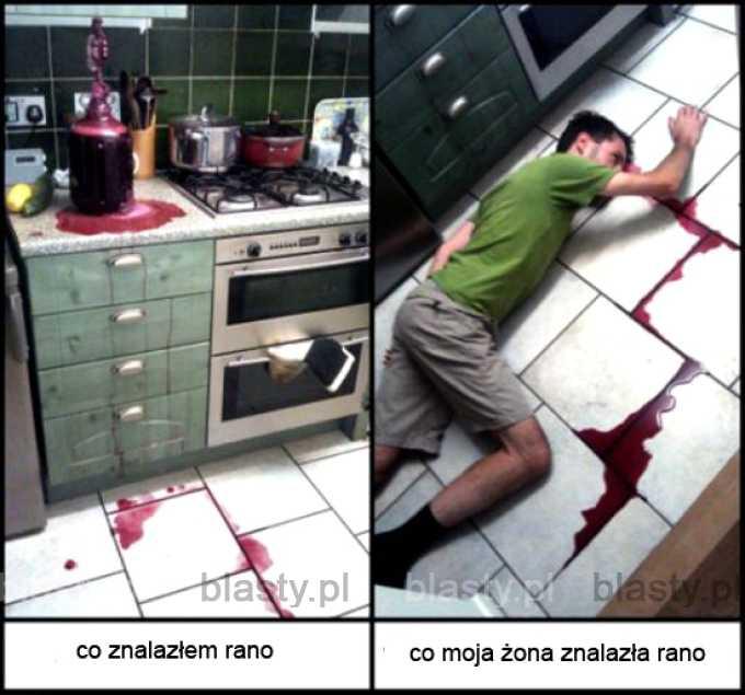 Kiedy 'wino zostało rozlane'