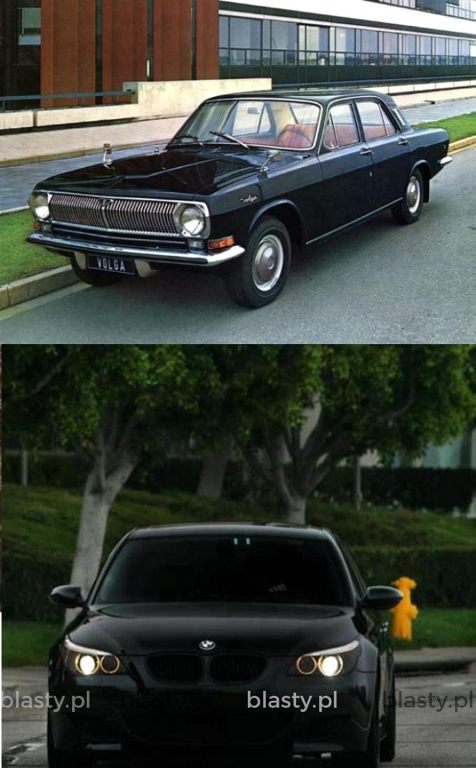Kiedyś straszyli czarną Wołgą - dzisiaj czarnym BMW