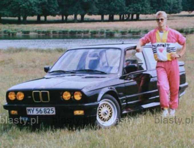 Kiedyś w BMW jeździli geje - teraz jeździ mafia.