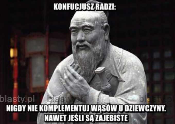 Konfucjusz radzi