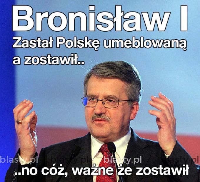 Krótka historia o Bronisławie