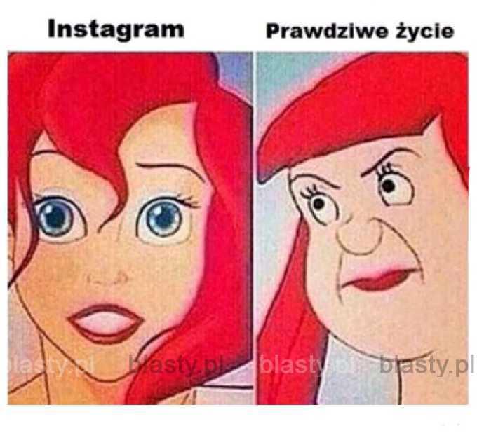 Laski na instagramie takie są.