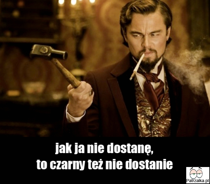 Leonardo Dicaprio i jego złość
