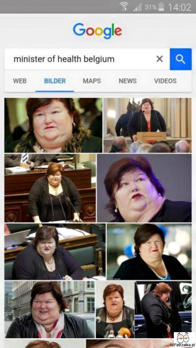 Minister ds.zdrowia w Belgii