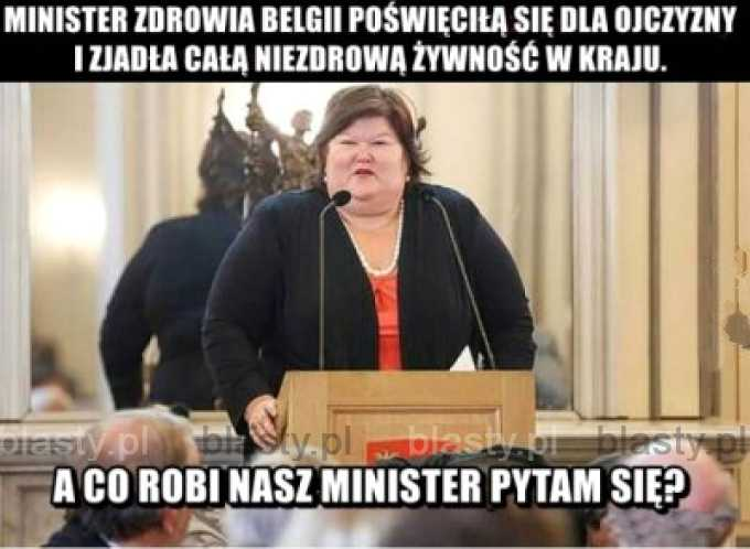 Minister zdrowia Belgii