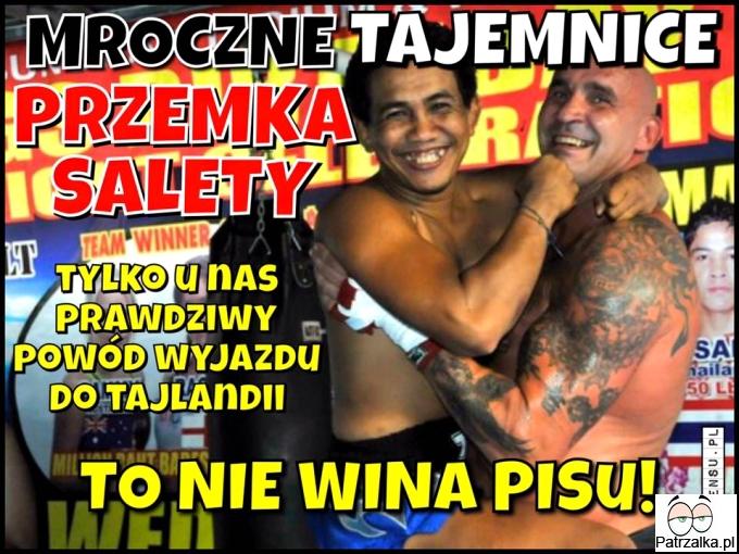 Mroczne tajemnice Przemka Salety