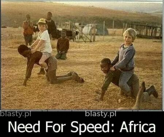 Need for speed wersja Afryka