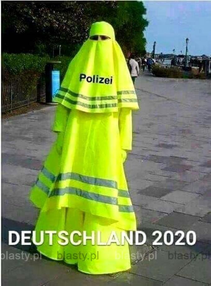 Niemiecka policja rok 2020