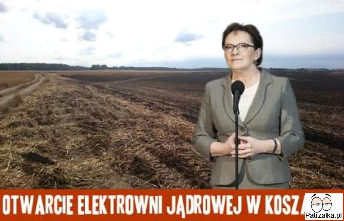 Otwarcie elektrowni jądrowej w Koszalinie