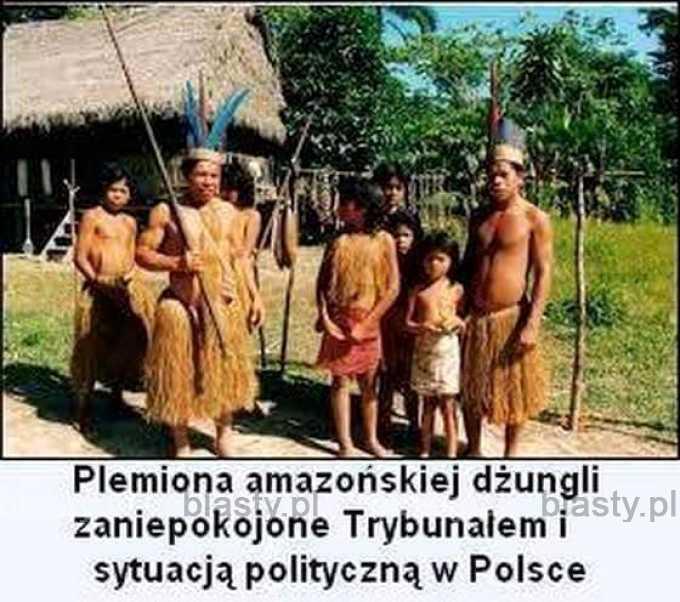 Plemiona amazońskiej dźungli