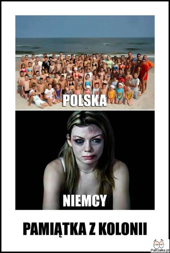 Polska vs Niemcy - Pamiątka z wakacji