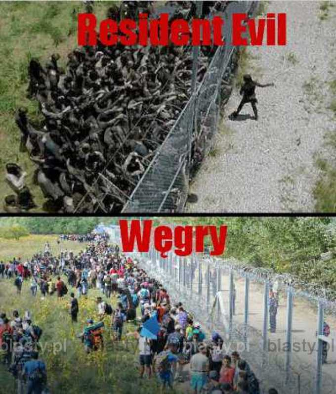 Resident Evil vs Węgry