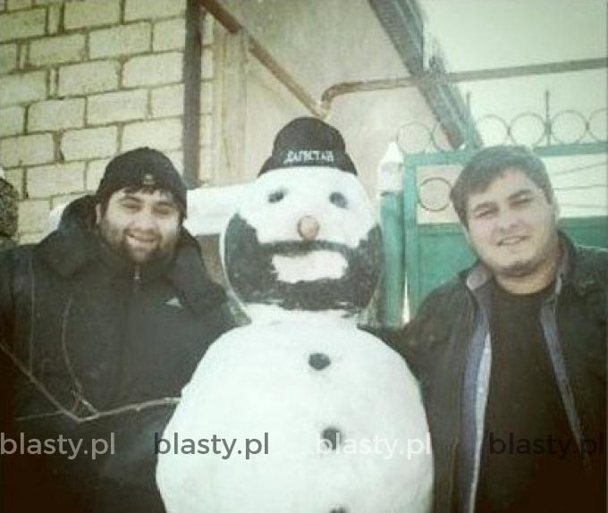 Rumunia tutaj nawet bałwan wygląda na złodzieja