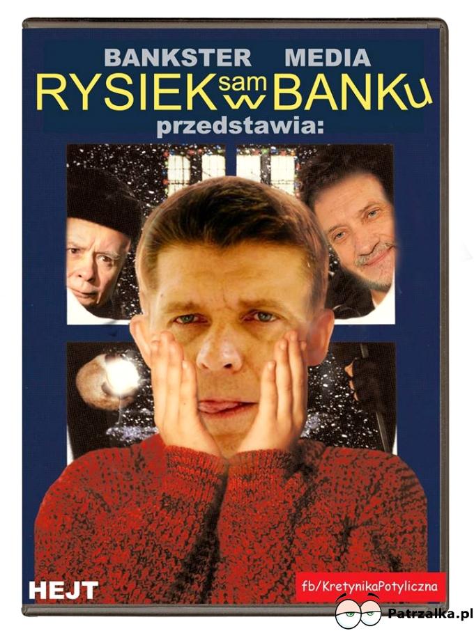 Rysiek sam w banku już wkrótce w TV